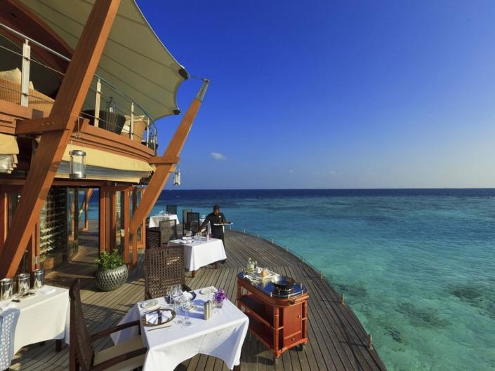 Baros Malediven Restaurant The Lighthouse