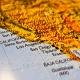 Landkarte der Westküste der USA