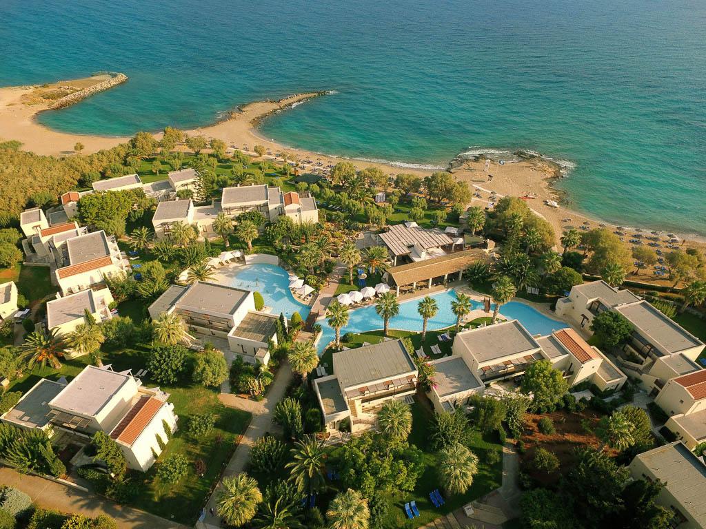 5 Sterne Hotel Kreta - Bungalows Meer