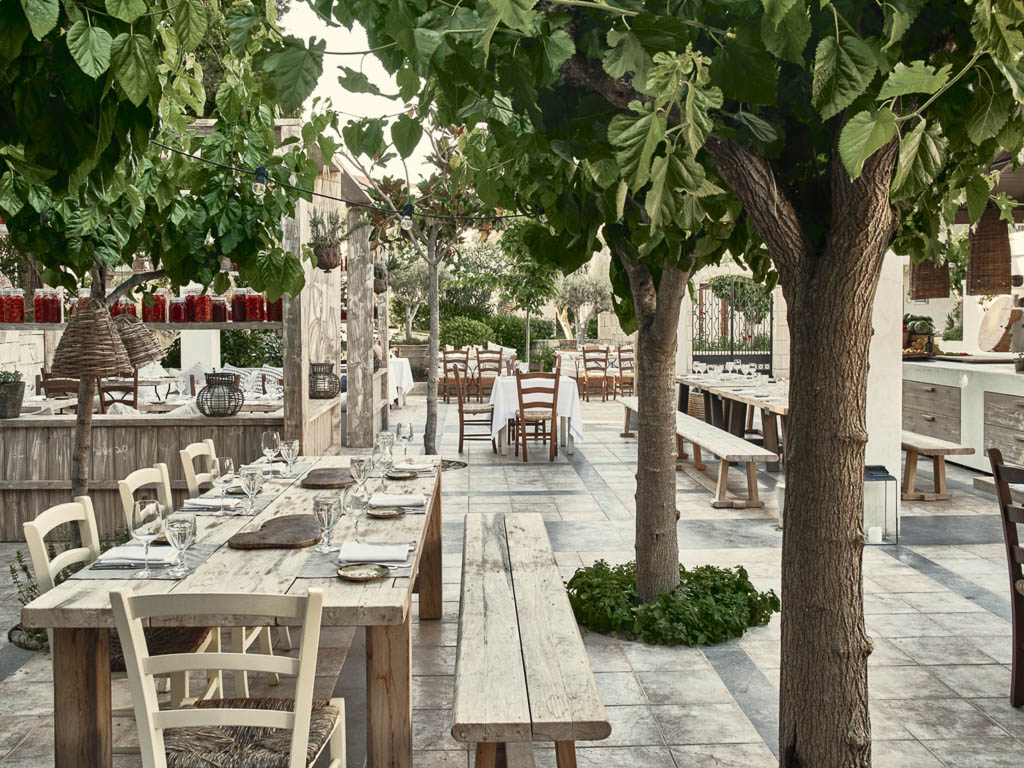 5 Sterne Hotel Kreta - Restaurant Mouries