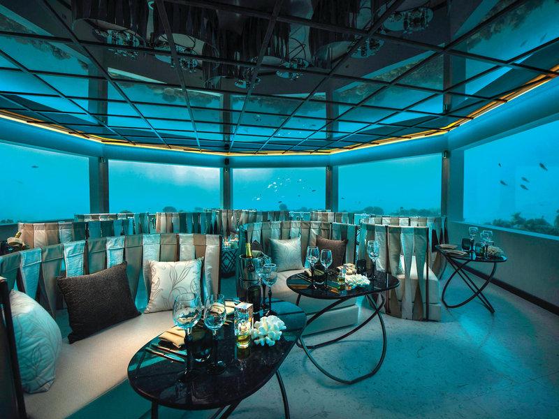 Ozen Atmosphere Malediven Unterwasser Bar