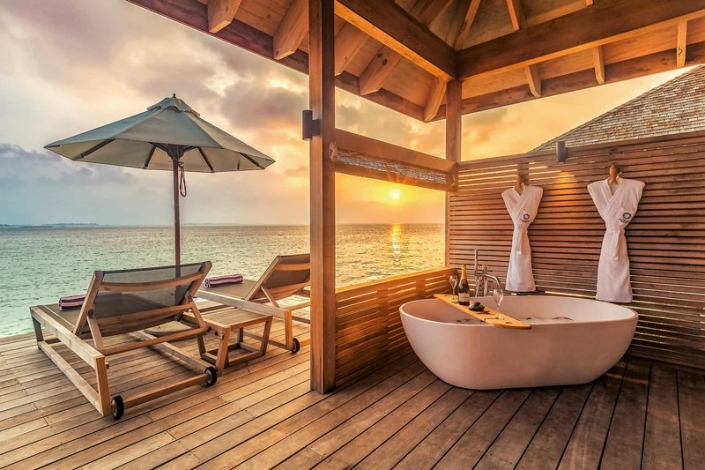 Hurawalhi Island Resort Ocean Villa