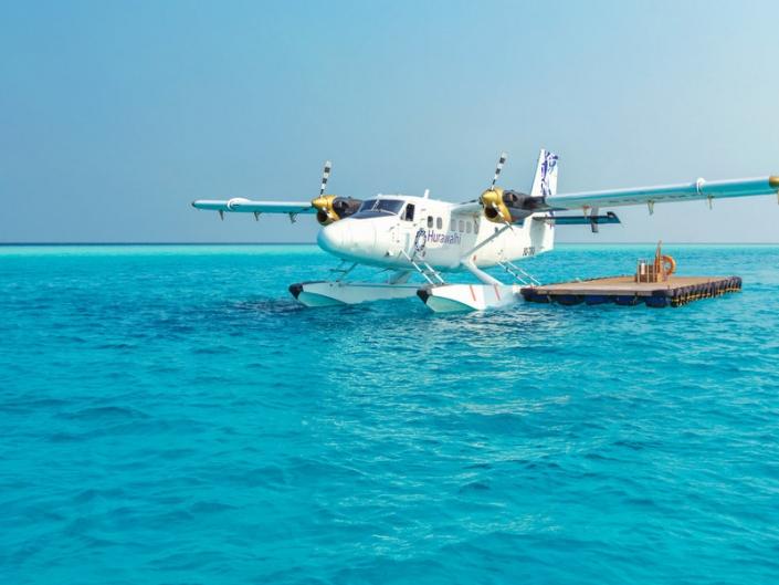 Hurawalhi Island Resort Wasserflugzeug