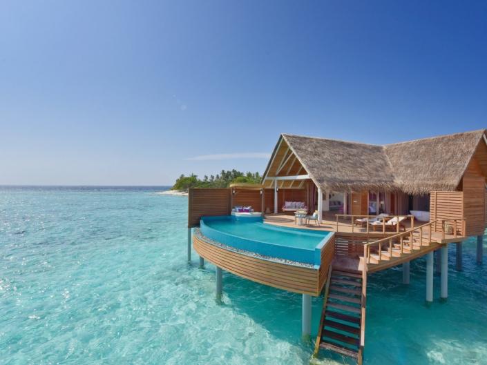 Milaidhoo Island Resort Water Pool Villa