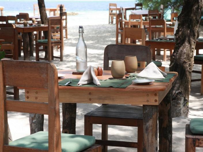 Restaurant am Strand