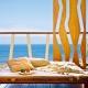 Bohemia Suites: Wohnbeispiel Juniorsuite Ocean View mit Balkon