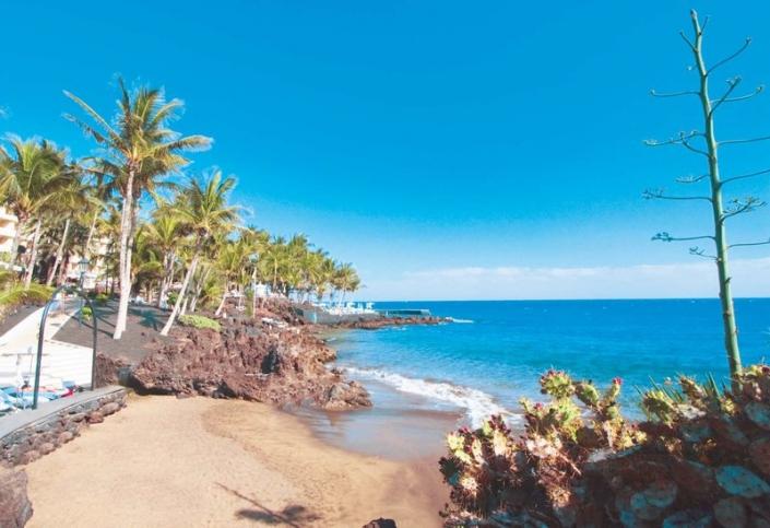 5 Sterne Hotel Fariones Lanzarote - Am Hotelstrand