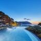 Pleta de Mar Luxus Hotel Adults only 5 Sterne Hotel Pool mit Pinien und Liegen