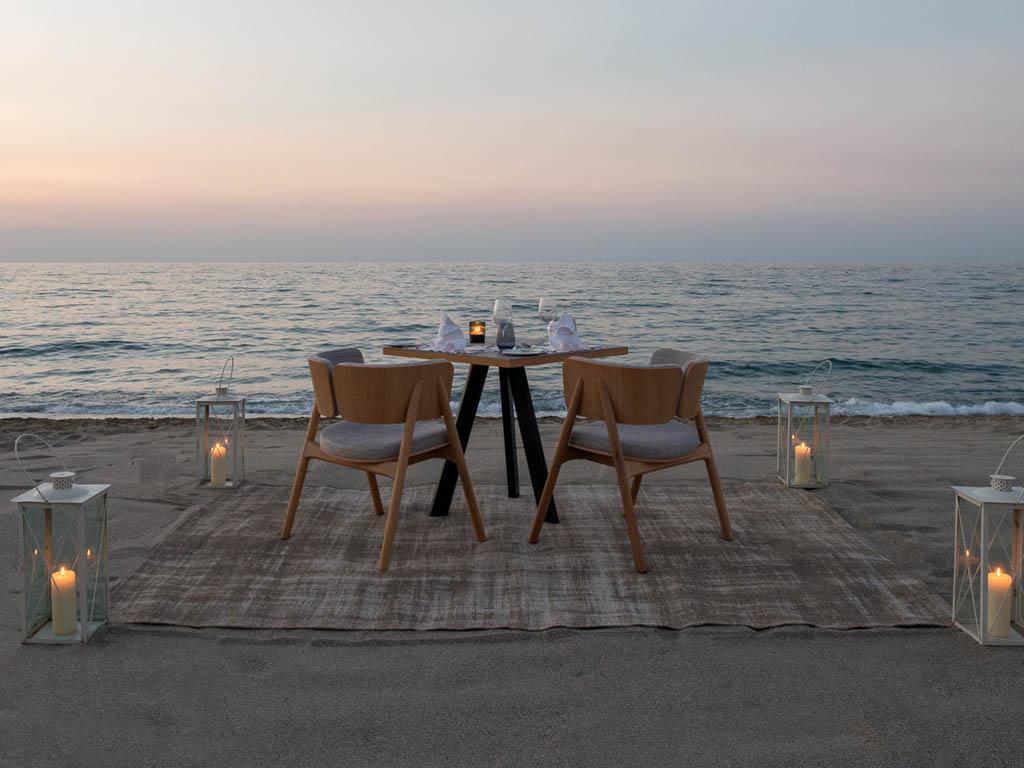 Luxus Suiten Kreta - Dinner am Meer