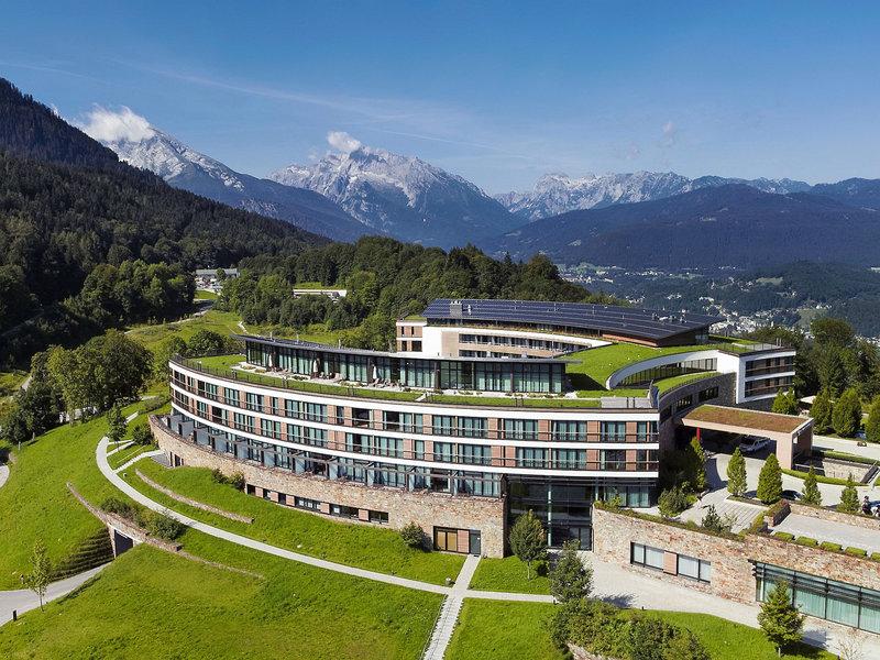Kempinski Hotel Berchtesgaden Bayern Die Ansicht