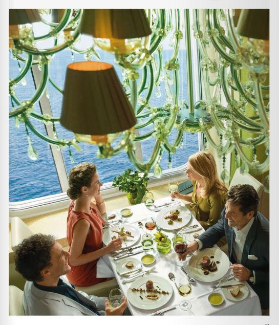 MS Europa 2 Restaurant Serenissima