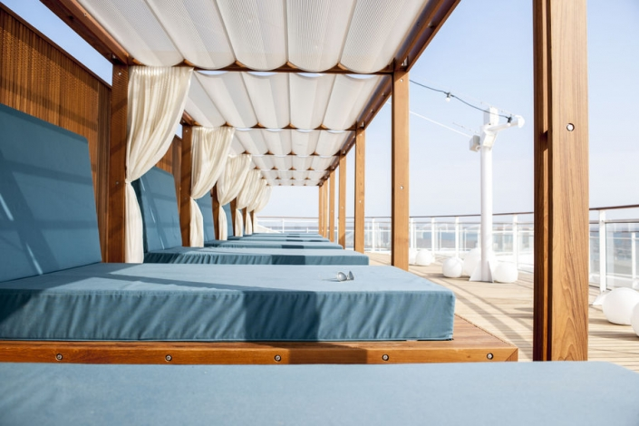MS Europa 2 Daybeds