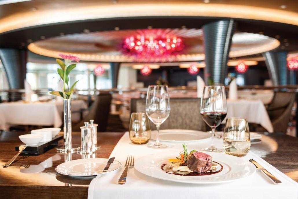 MS Europa 2 Restaurant Weltmeere