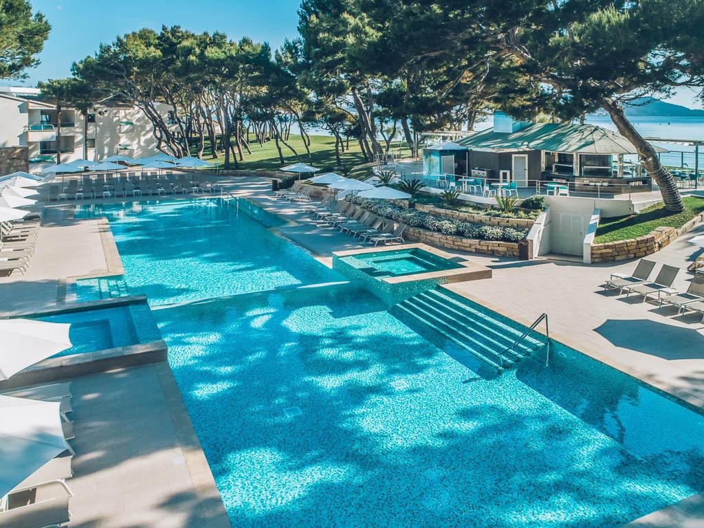 4 Sterne Iberostar Mallorca Pool