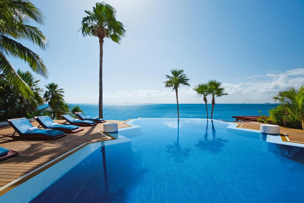 Zoetry Villa Rolandi Cancun - Im wunderbaren Infinitypool