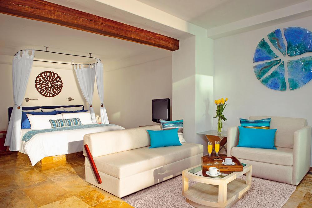 Zoetry Villa Rolandi Cancun - Wohnbeispiel Superior Room Ocean Front