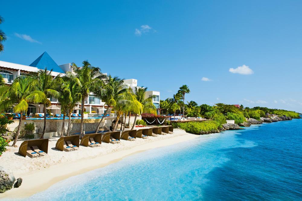 Zoetry Villa Rolandi Cancun - Am privaten Badestrand