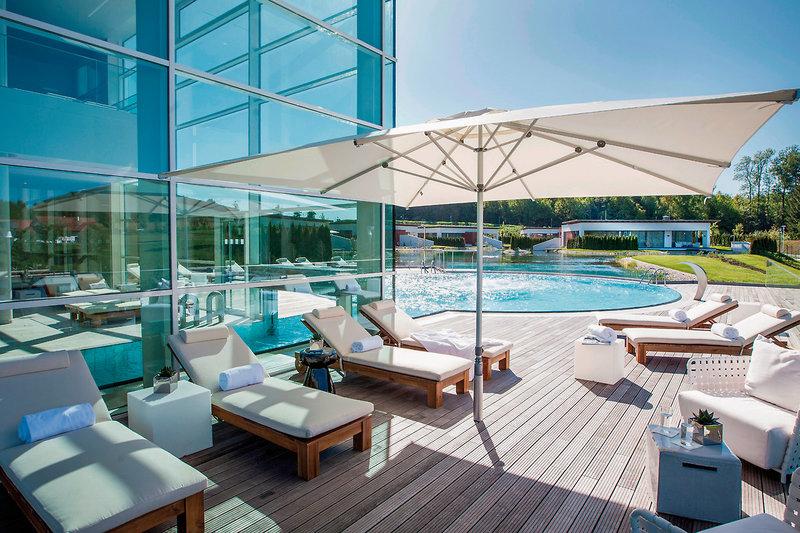 Geinberg5 Spa Villas Luxusurlaub Outdoor Spa