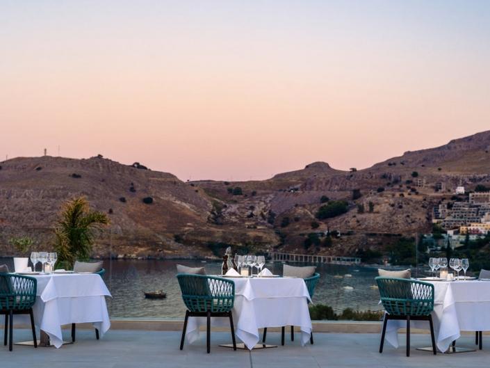 Lindos Grand Resort und Spa Lindos Grand Resort und Spa Restaurant Thalatta