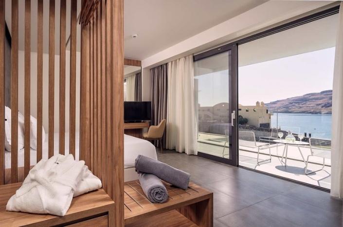 Lindos Grand Resort und Spa Deluxe Double Sea View