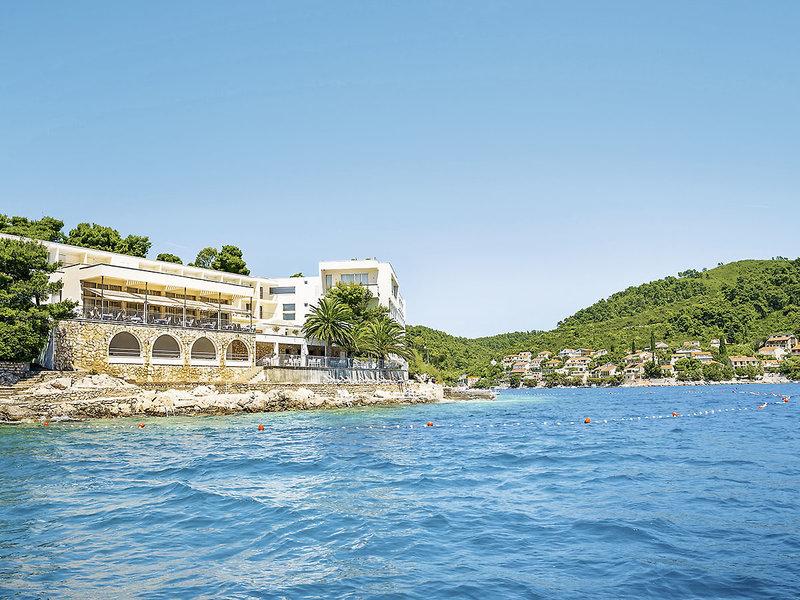 Aminess Lume Kroatien Korcula - Ansicht vom Meer