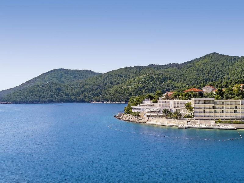 Aminess Lume Kroatien Korcula - Ansicht von oben