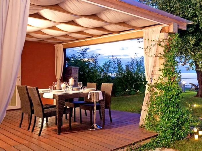 Meliá Istrian Villas Kroatien - Beim Dinner entspannt aufs Meer blicken