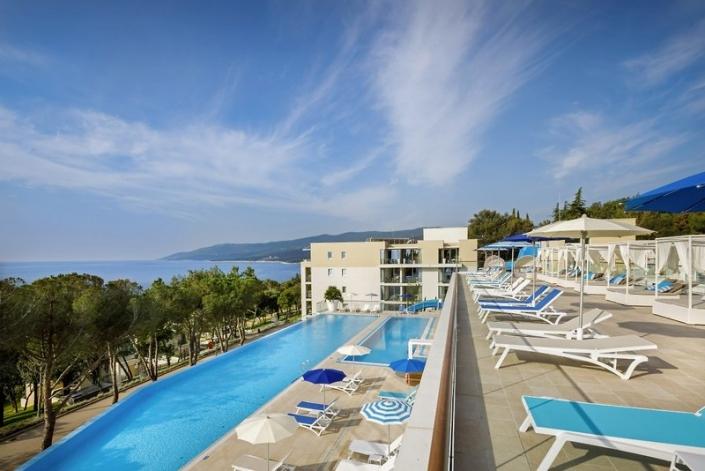 Valamar Collection Girandella Kroatien Poolbereich