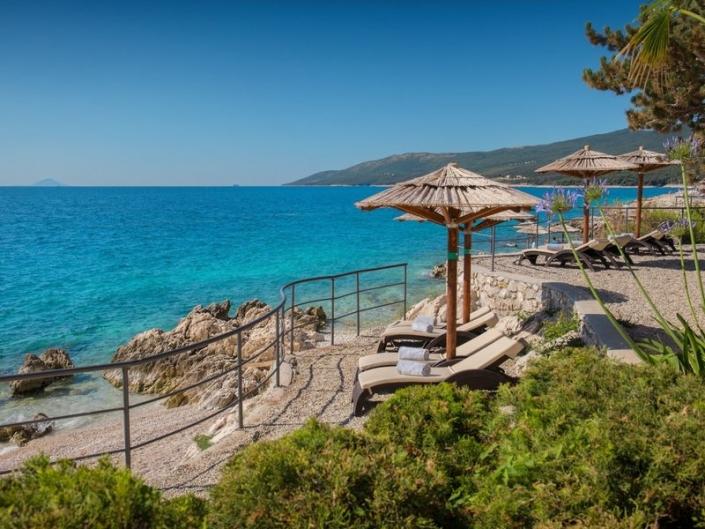 Valamar Collection Girandella Kroatien Strandbereich