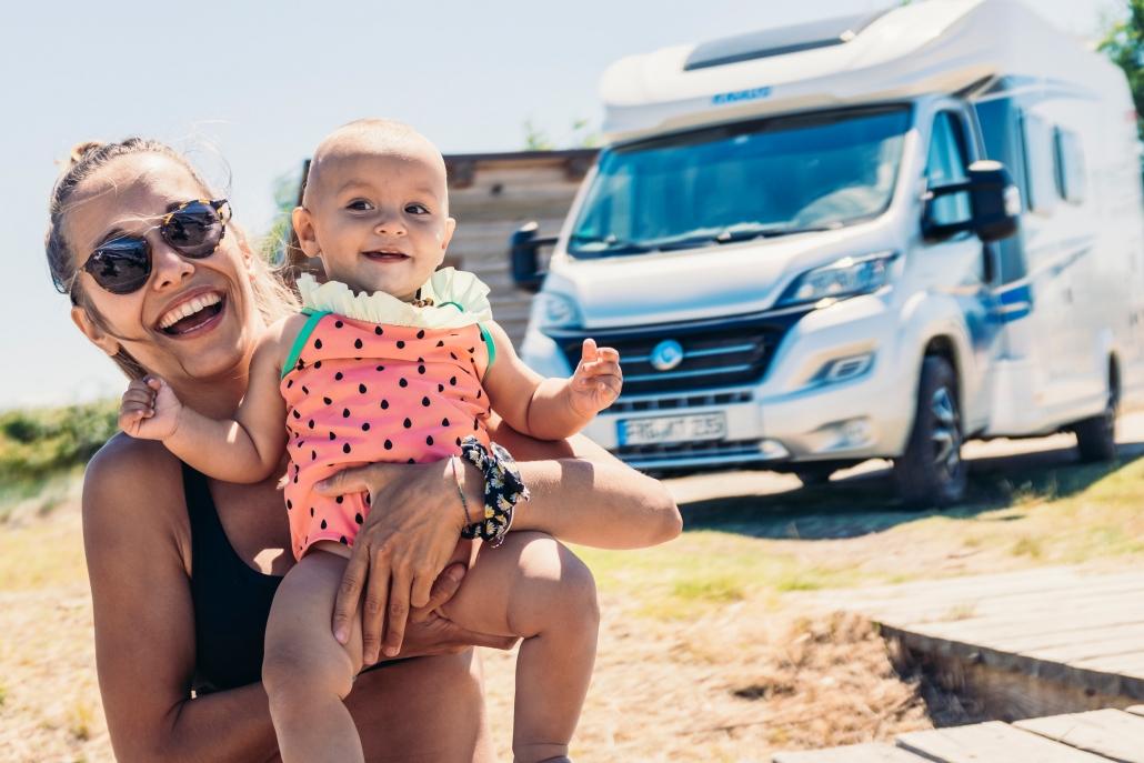 Camping und Campmobil In jedem Alter mit der Familie