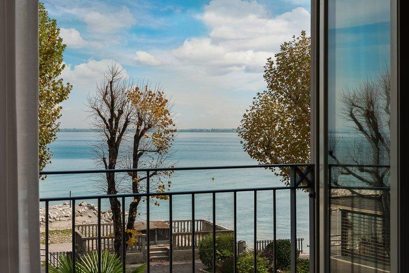 Blick zum Gardasee