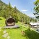 Das Kaltenbach Österreich Zillertal - Die Relaxliegen im Garten