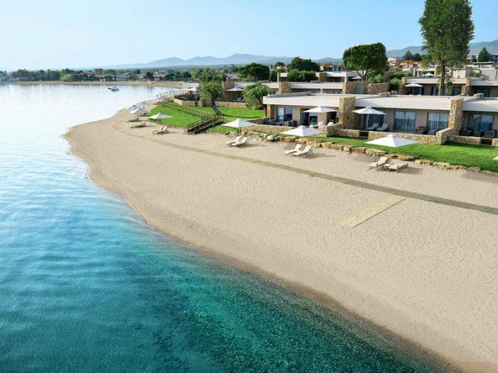 Ikos Olivia 5-Sterne Luxus - Strand und Anlage