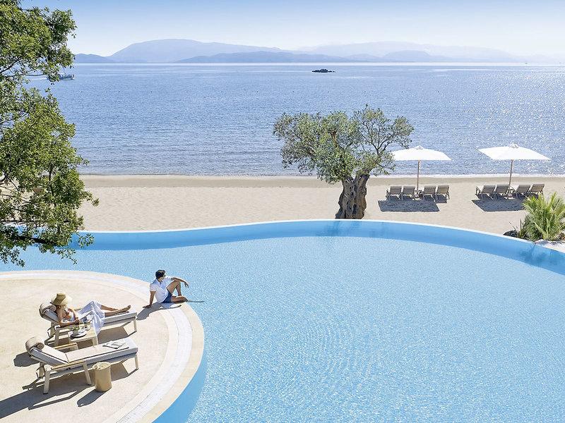 Ikos Dassia 5-Sterne Luxus - Am Pool und Meer