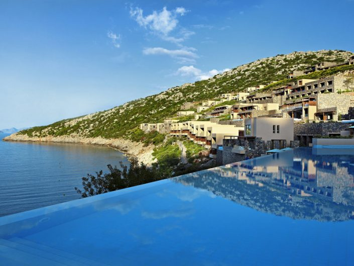Daios Cove 5-Sterne Luxury Resort - Pools und Bungalows