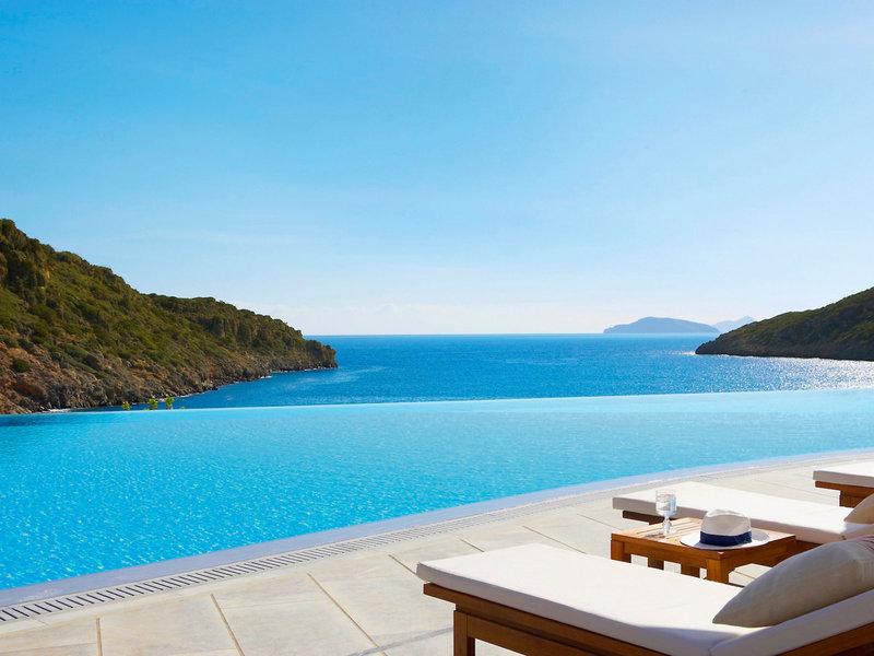 Daios Cove 5-Sterne Luxury Resort - Vom Infinitypool bis zum Meer