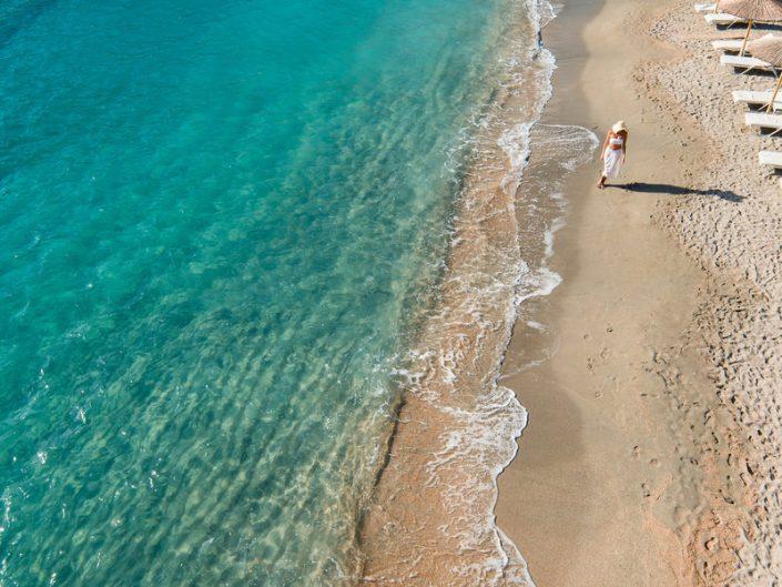 Am Strand zur Ruhe kommen