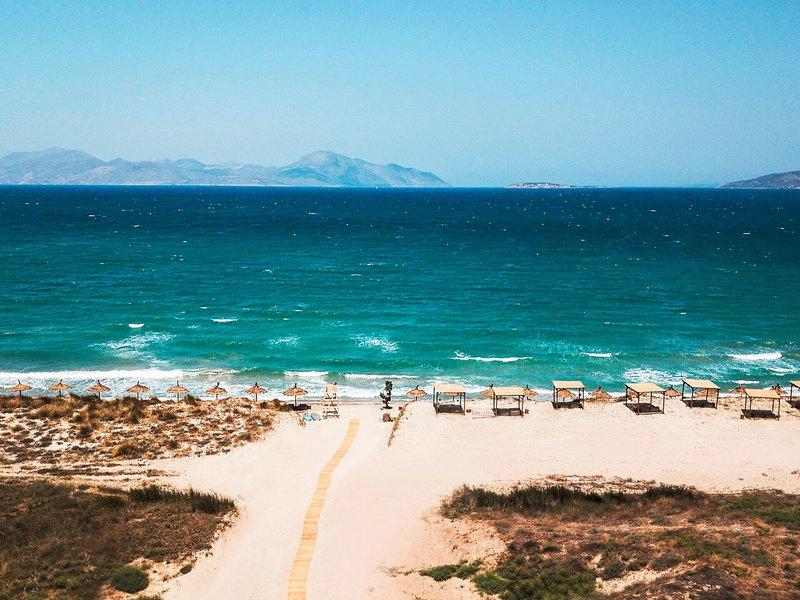 OKU 5-Sterne Erwachsenenhotel Kos - Blick zum Strand