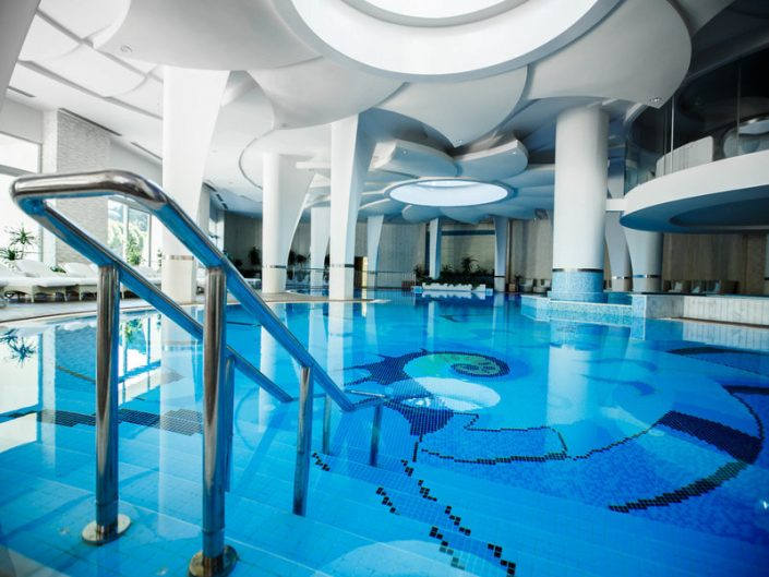 Calista Luxury Resort Familienurlaub - Der Spa Innenpool