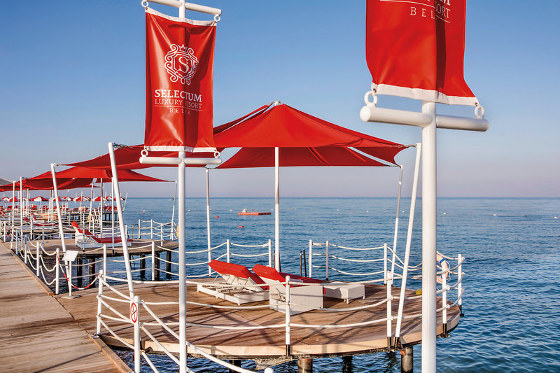 Selectum Luxus All-inklusive Türkei - Zu zweit auf den wundervollen Badeinselauslegern