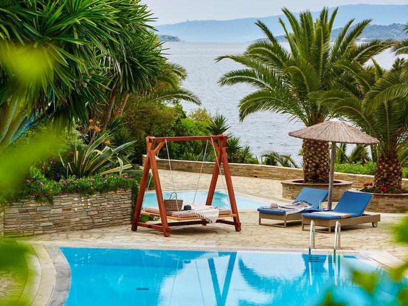 Eagles Villas Ouranoupolis Chalkidiki - Relaxen am Pool
