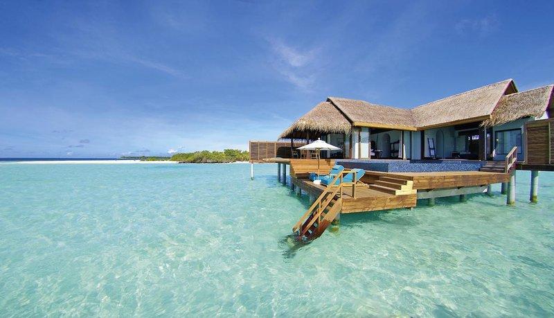 Anantara Kihavah Villas Malediven - Kristallklares Wasser erwartet Sie