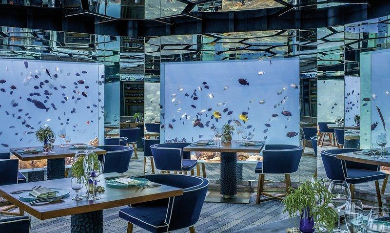 Im sagenhaften Unterwasser Restaurant