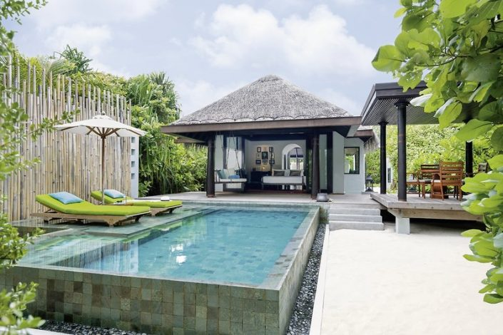 Wohnbeispiel auf der Insel mit private Pool