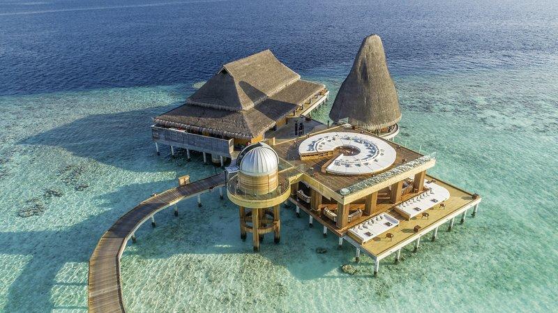 Anantara Kihavah Villas Malediven - Der Zentralbereich