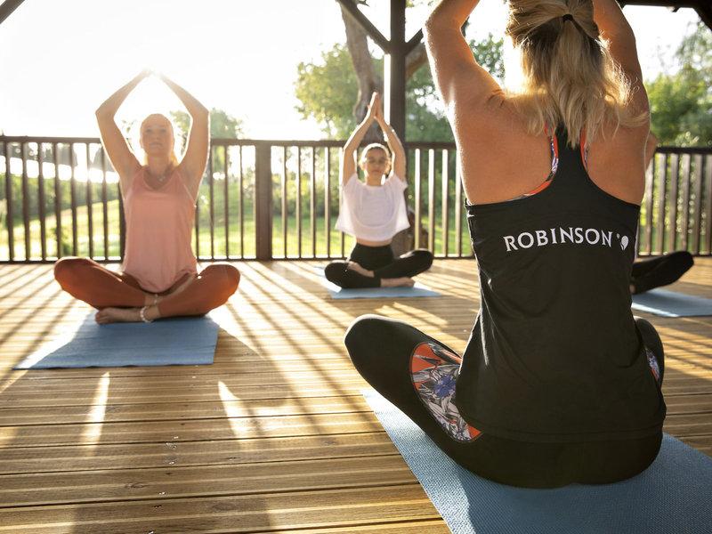 Beim Yoga