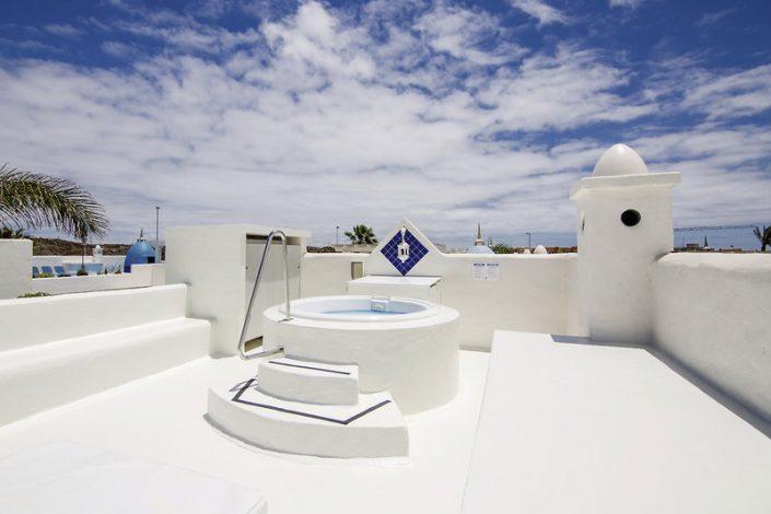Bahiazul Villas Club Fuerteventura - Jacuzzi auf der Dachterrasse