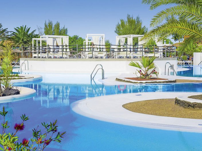Elba Lanzarote Royal Village Resort - Pools und Relax Bereiche