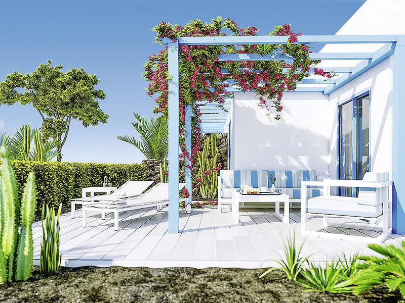 Elba Lanzarote Royal Village Resort - Wohnbeispiel mit Terrasse