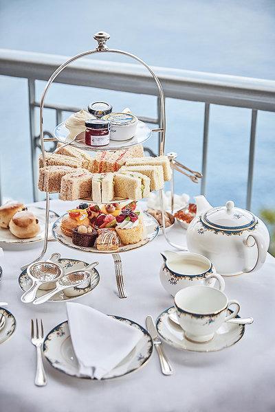 Belmonds Reids Palace - Afternoon tea wie in England